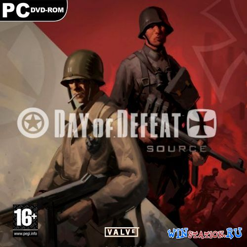 Скачать Day of Defeat Source [v.1.0.0.36.1 + No-Steam] бесплатно