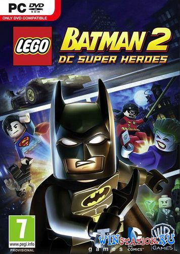 Скачать LEGO Batman 2: DC Super Heroes бесплатно