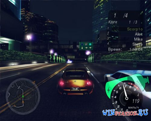 Скачать игру Need for Speed: Underground 2 mod by GRiME