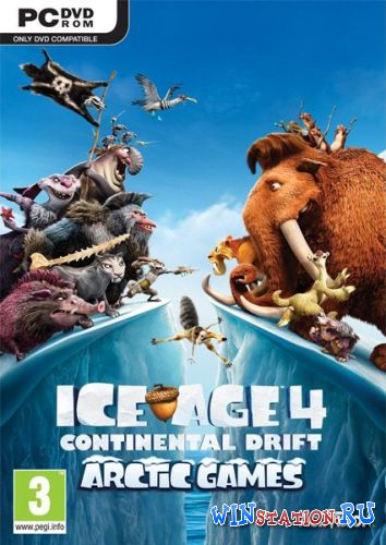 Скачать игру Ice Age: Continental Drift - Arctic Games (2012/ENG/Repack by SEYTER)