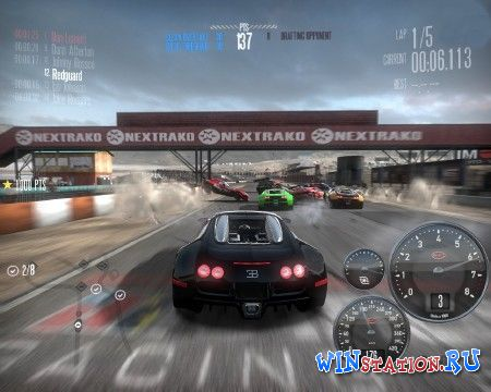 ������� ���� Need For Speed Shift Nascar (EA Games)