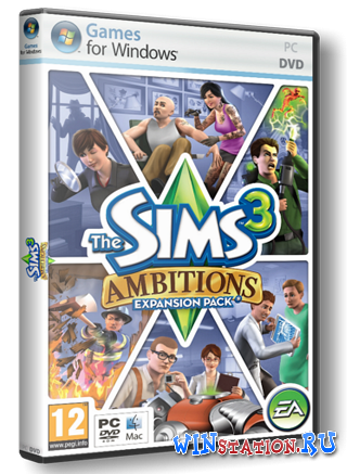 Скачать The Sims 3 Gold Edition + Store June 2012 бесплатно