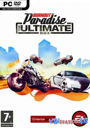 Скачать игру Burnout Paradise: The Ultimate Box (v 1.100)