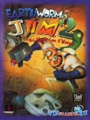 Червяк Джим 2 в 1 / Earthworm Jim 1 + 2