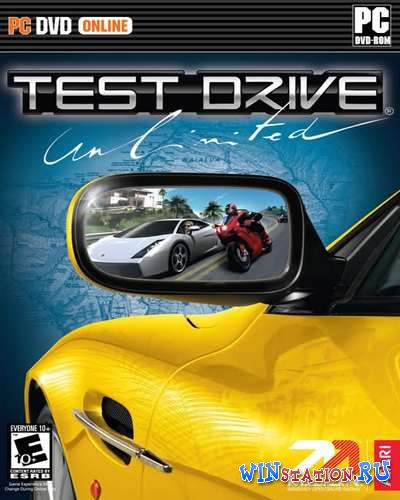 Скачать игру Test Drive Unlimited+Megapack