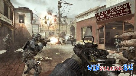 Call of Duty MW3 Tekno Multiplayer геймплей