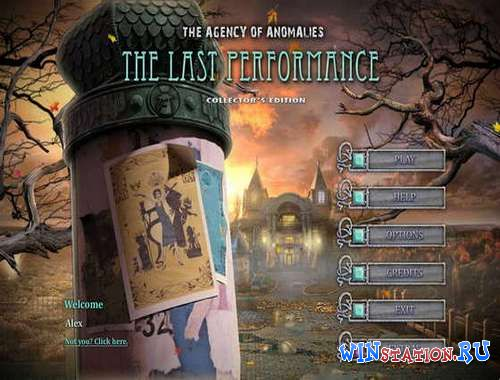 Скачать игру The Agency of Anomalies 3: The Last Performance Collector's Edition