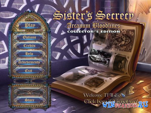 Скачать игру Sister's Secrecy: Arcanum Bloodlines - Collector's Edition