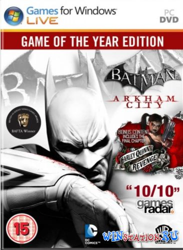 Скачать игру Batman: Arkham City - Game of the Year Edition