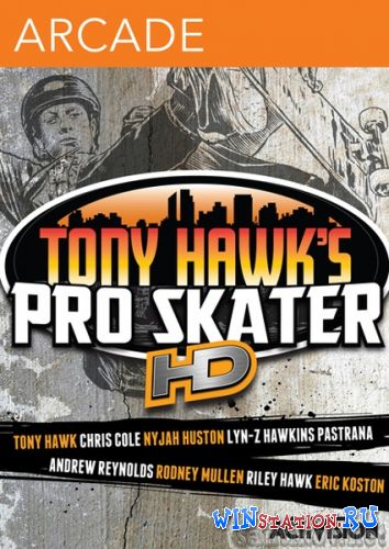 Скачать игру Tony Hawk's Pro Skater HD (2012/ENG/MULTi5)