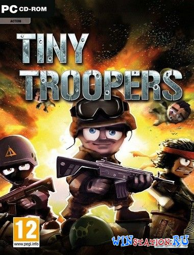 Скачать игру Tiny Troopers (Iceberg Interactive)