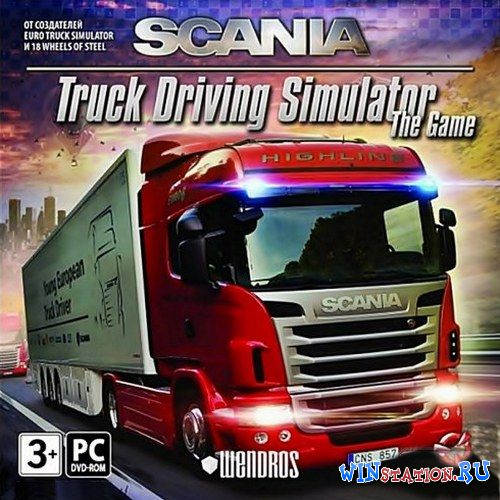 Скачать игру Scania.Truck Driving Simulator.v 1.2.1 (Акелла)