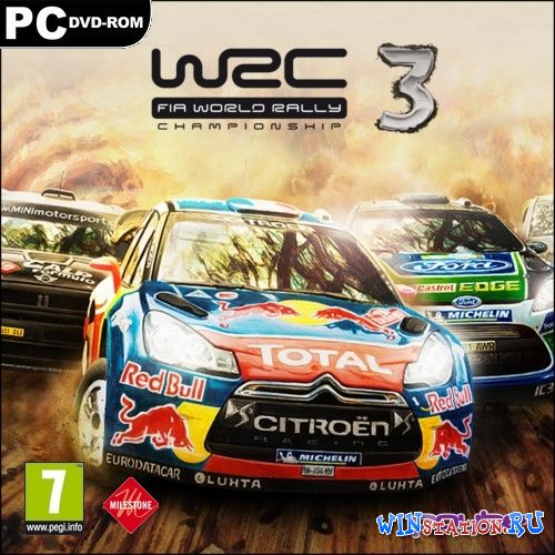 Скачать игру WRC 3: FIA World Rally Championship