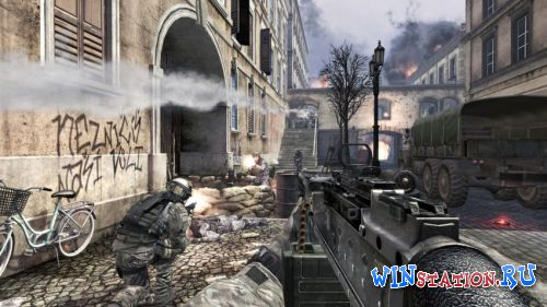 Скачать игру Call of Duty: Modern Warfare 3 [1.9.446] [Four Delta One + TeknoGods + DLC3]