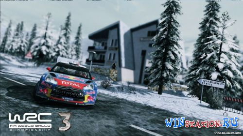 Скачать игру WRC 3 FIA World Rally Championship
