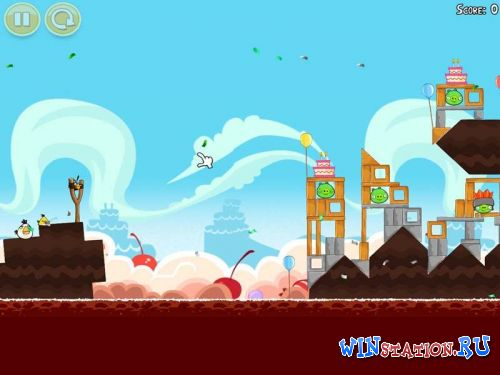Скачать игру  Angry Birds: Anthology + Bad Piggies