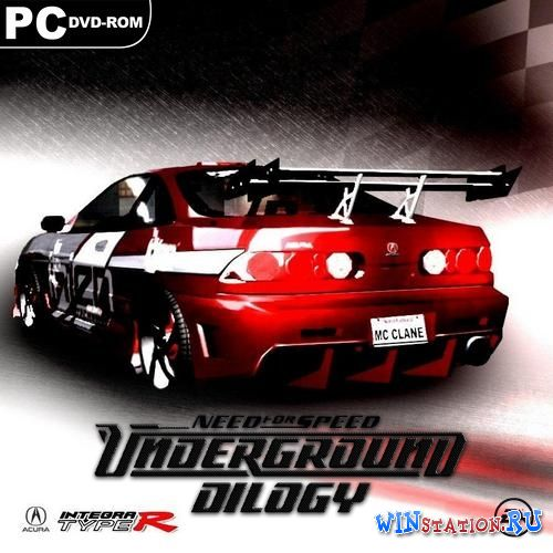 Скачать игру Need for Speed: Underground - Дилогия