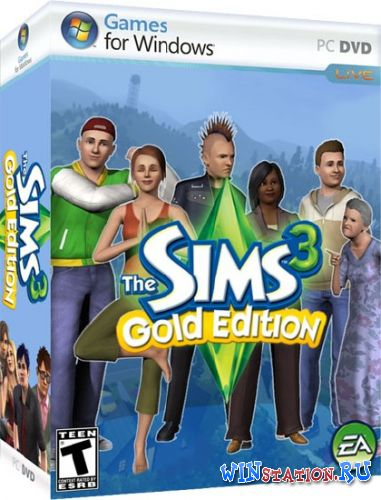 Скачать игру The Sims 3: Gold Edition v.16.0.136