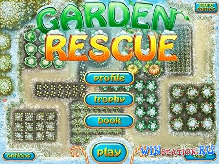 Скачать игру Garden Rescue Christmas Edition