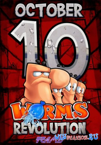 Скачать игру Worms Revolution / Worms: Революция + DLC's