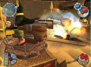 Worms Forts Under Siege геймплей