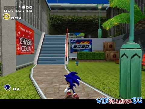 —качать игру Sonic Adventure 2 Battle