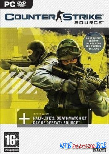 Скачать игру Counter-Strike Source CyberDelia Edition