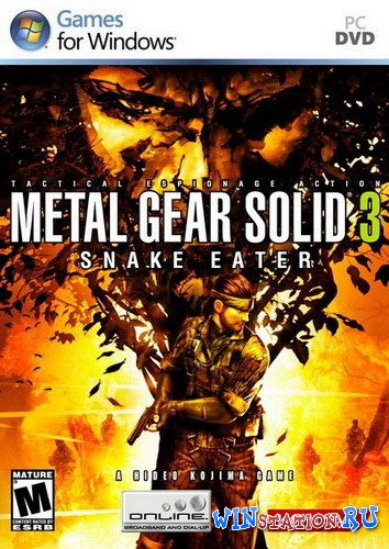 Скачать Metal Gear Solid 3: Snake Eater бесплатно