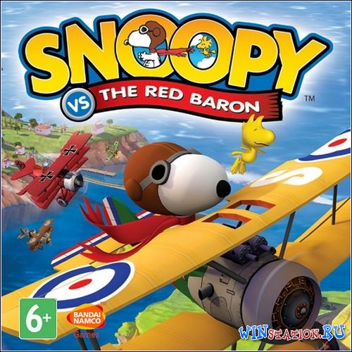 Скачать игру Snoopy vs. the Red Baron (2006/RUS/ENG)