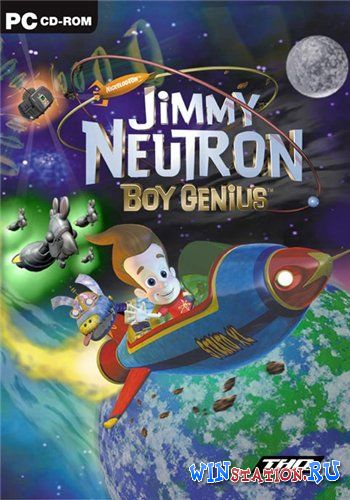 Скачать игру Jimmy Neutron: Boy Genius