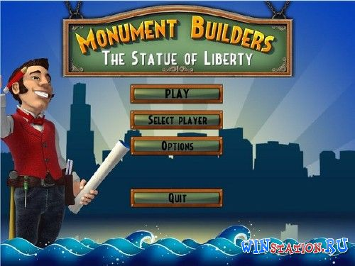 Скачать игру Monument Builders: The Statue of Liberty
