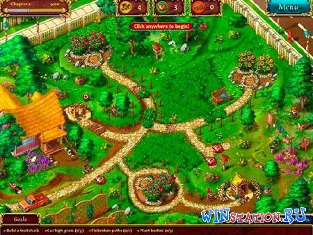 Скачать игру Gardens Inc. From Rakes to Riches