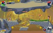 Worms Crazy Golf геймплей