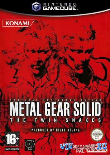 —качать игру Metal Gear Solid: The Twin Snakes