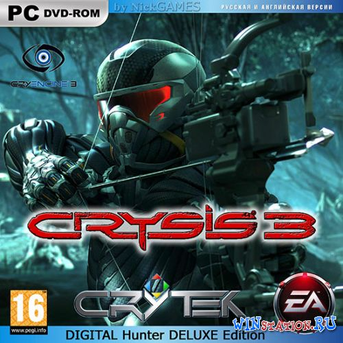 Скачать игру CRYSIS 3: Digital Deluxe Edition