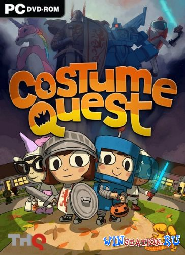 Скачать игру Costume Quest + Grubbins on Ice