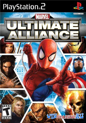 —качать игру Marvel: Ultimate Alliance