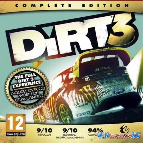 Скачать DiRT 3: Complete Edition v1.3 бесплатно