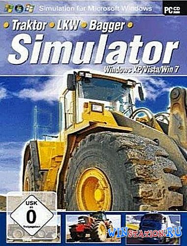 Скачать игру Traktor Bagger and LKW Simulator (2010/Rus/Multi/PC)