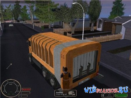 Скачать Big City Rigs:Garbage Truck Driver бесплатно