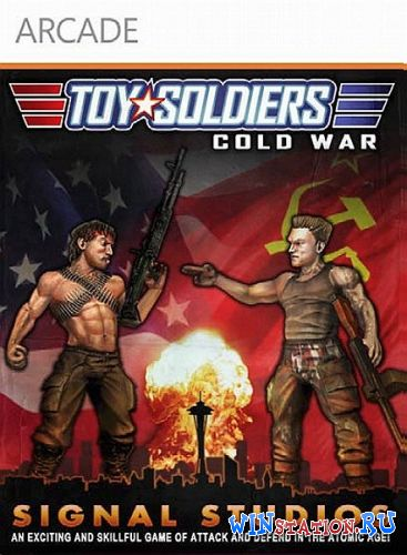 Скачать игру Toy Soldiers. Cold War (2013/RUS/ENG)
