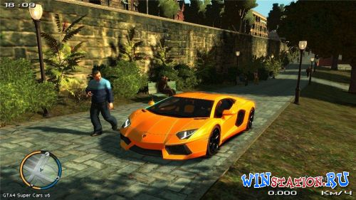 Скачать игру Grand Theft Auto IV - Super Cars v6
