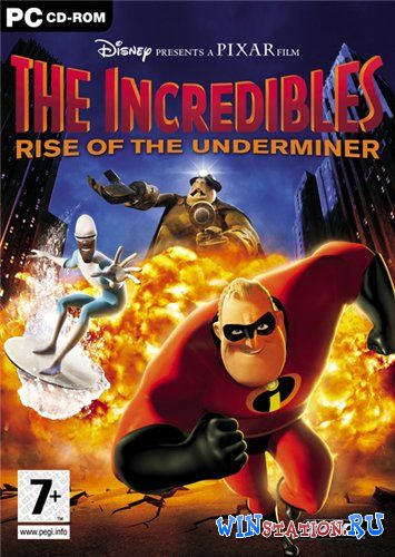 Скачать игру The incredibles: Rise of the Underminer