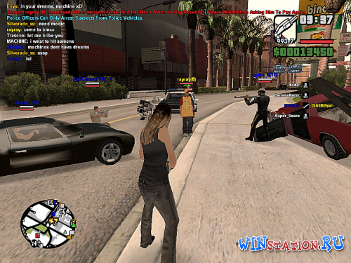 ������� ���� Grand Theft Auto San Andreas MultiPlayer