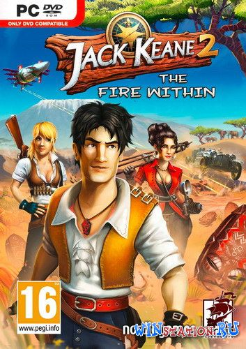 Скачать игру Jack Keane 2: The Fire Within