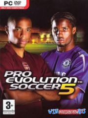 Pro Evolution Soccer 5 (2005/PC/RUS/ENG/RePack)