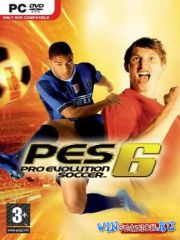 Pro Evolution Soccer 6 (2006/PC/RUS/ENG/Repack)