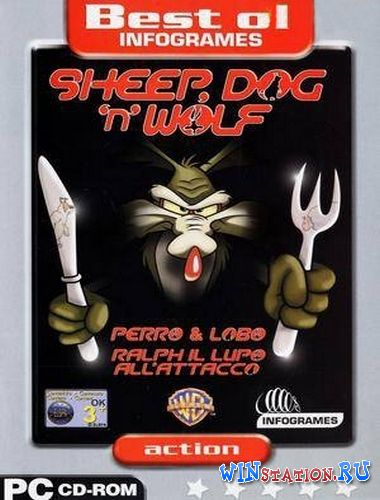 Скачать игру Sheep Dog 'n' Wolf v1.0 (Infogrames)