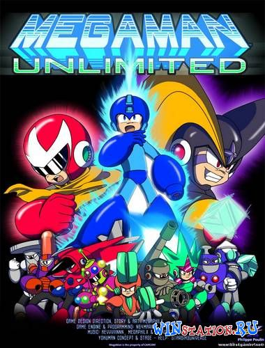 Скачать игру MegaMan Unlimited (Philippe Poulin and Co.)