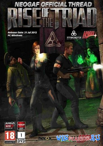 Скачать Rise of the Triad v1.5.1 бесплатно